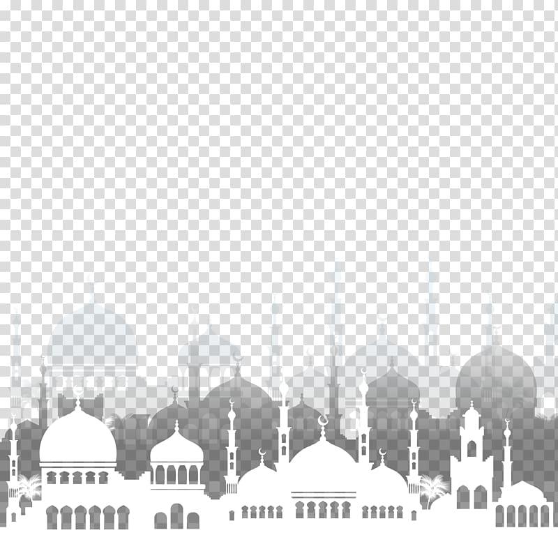 Islam Ramadan Mosque Illustration, Islamic mosque architecture.