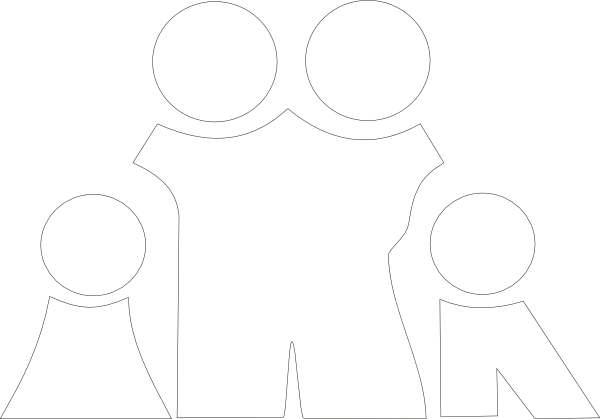 Family Clipart Black And White Png.