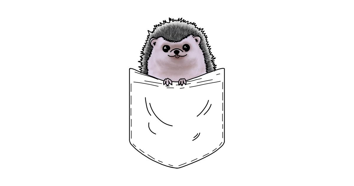 Hedgehog In A Pocket by quenguyen.