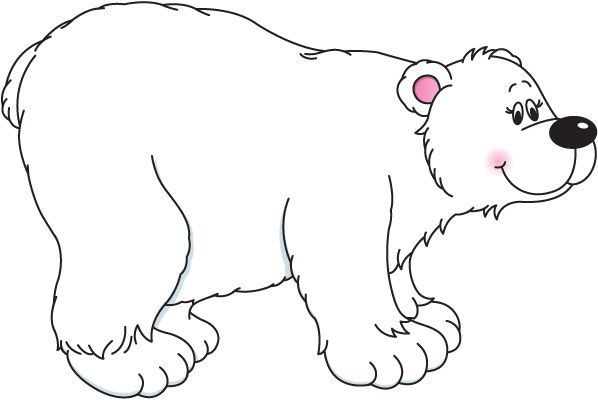 Polar Bears Clipart.