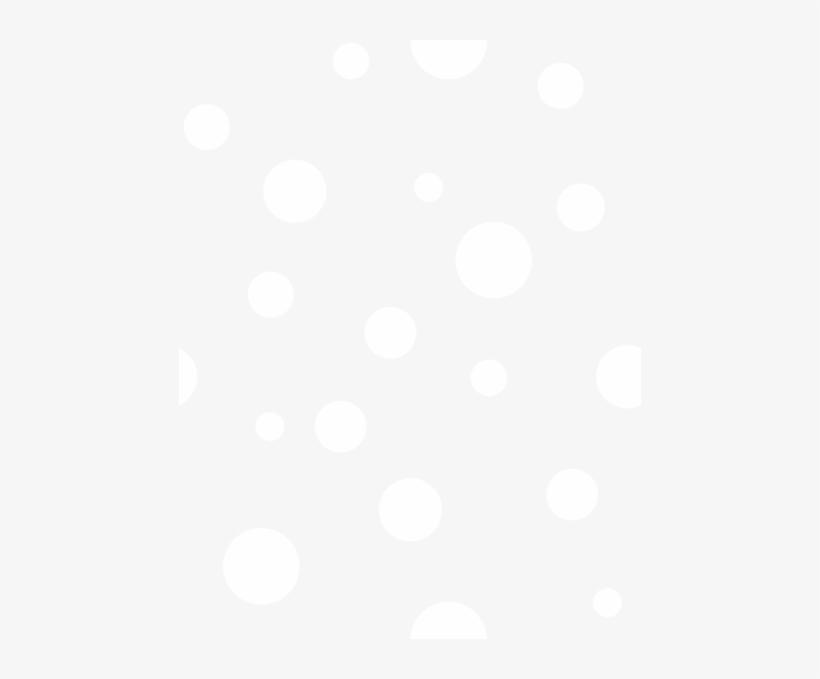 White Polka Dots Clipart.