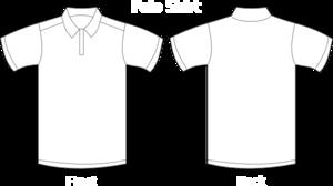 Polo Shirt White Clip Art at Clker.com.