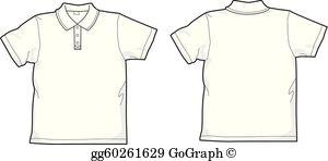 Polo T Shirt Clip Art.