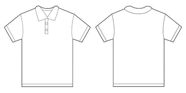 Best White Polo Shirt Illustrations, Royalty.