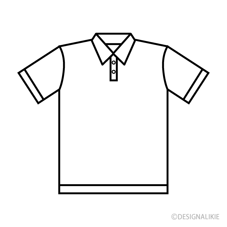 Free Polo Shirt Clipart Image|Illustoon.