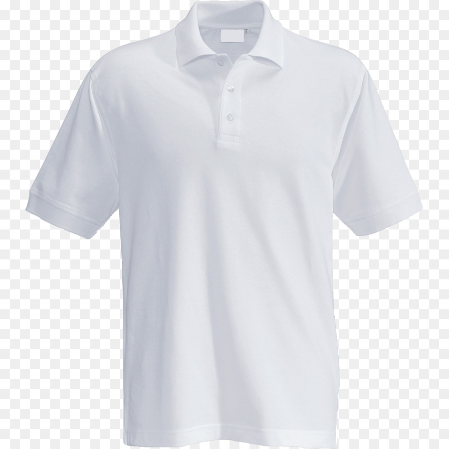 Polo Shirt White png download.