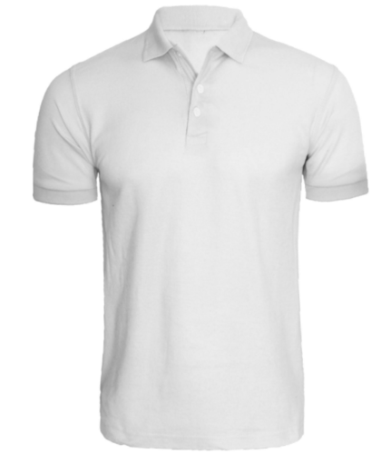 White Polo T Shirt.