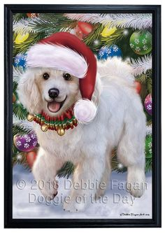 266 Best WHITE POODLE Clipart images in 2019.