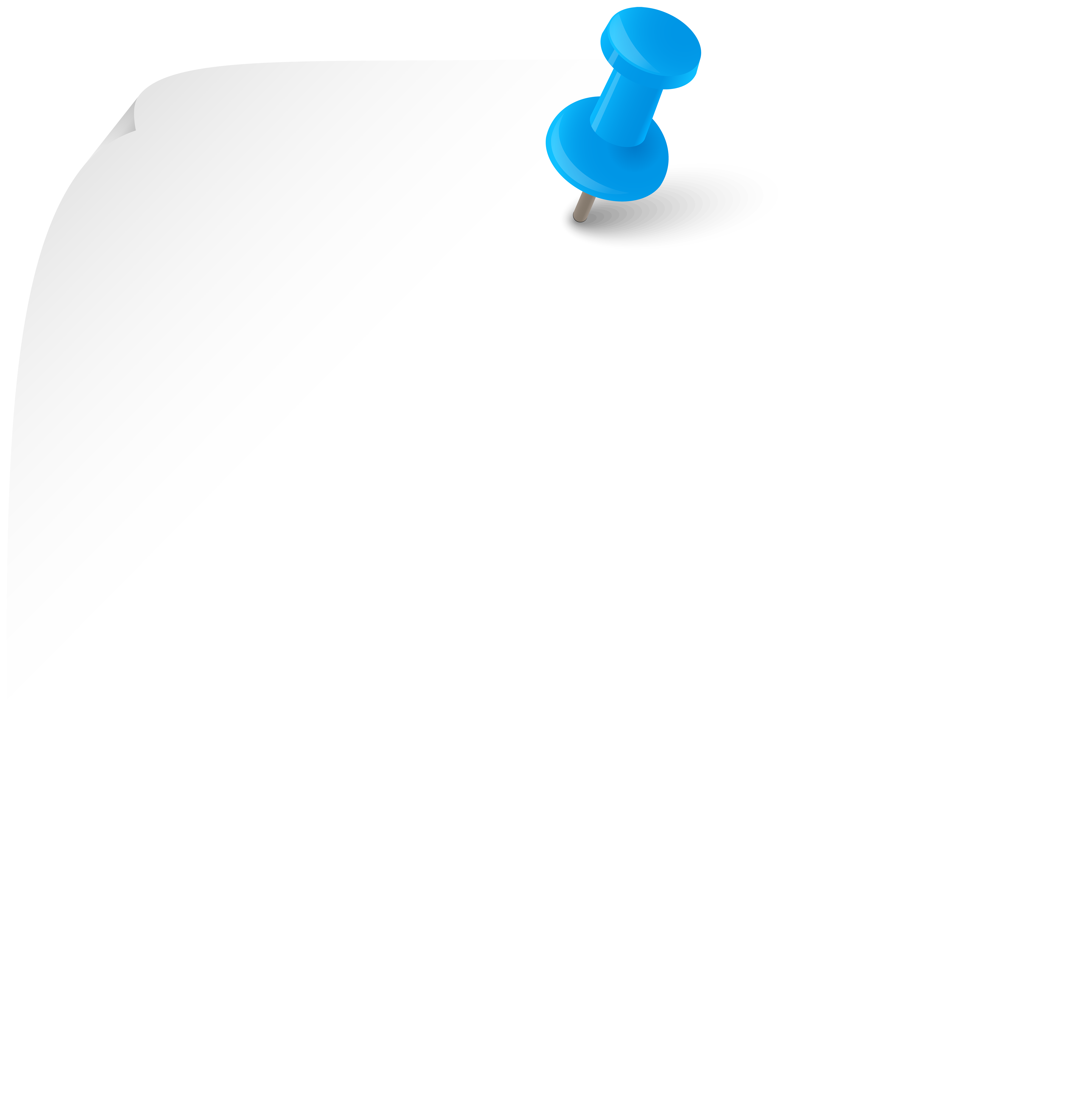 White Sticky Note PNG Clipart.