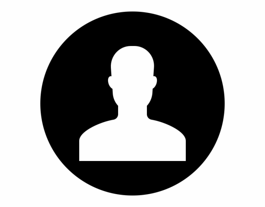 Profile icon white download free clipart with a transparent.