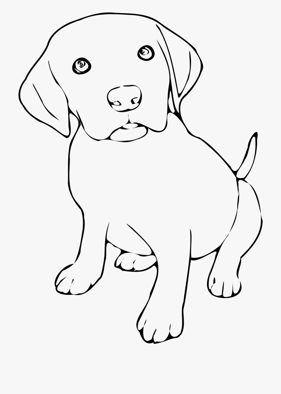 Pet Clipart Black And White.