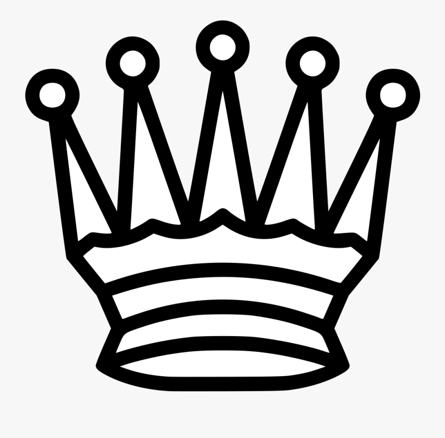 White Queen Chess Icon , Free Transparent Clipart.