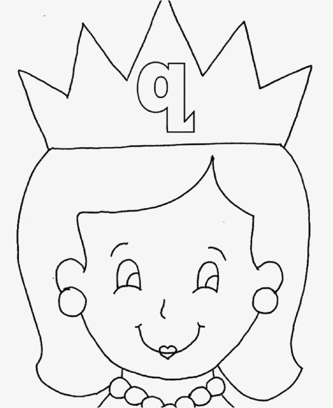 Queen Clipart Black And White Png.