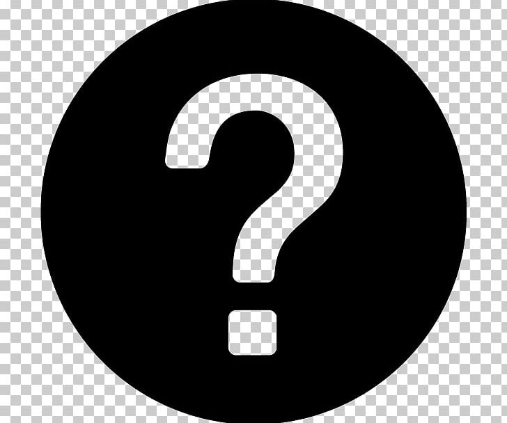 Computer Icons Question Mark PNG, Clipart, Black And White, Brand.