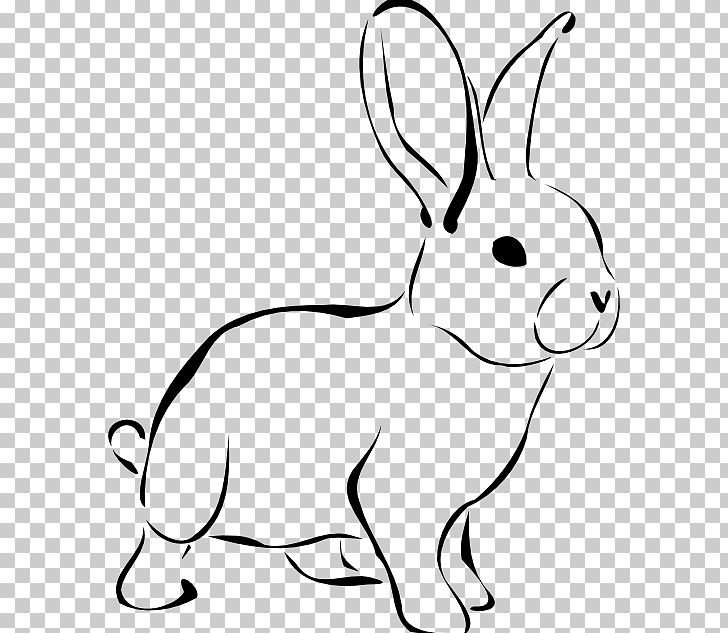 Easter Bunny White Rabbit PNG, Clipart, Area, Black And.