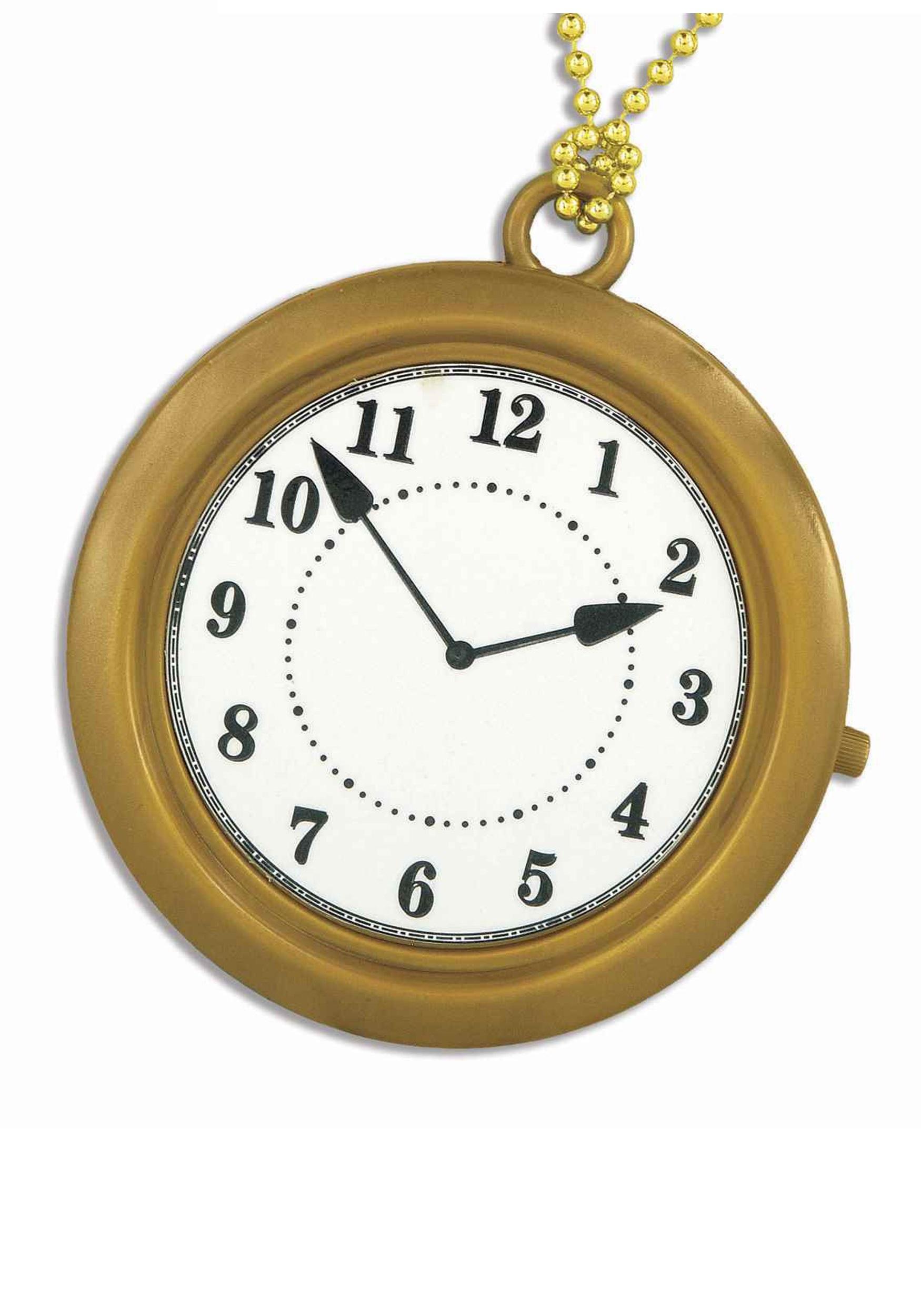 White Rabbit Pocket Watch Clipart.
