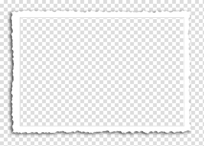 White and black frame template illustration, Paper Area.