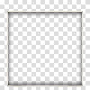 Black and white Point Angle, Hanging frame, square white hanging.