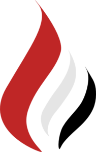Clipart Black Red And White.