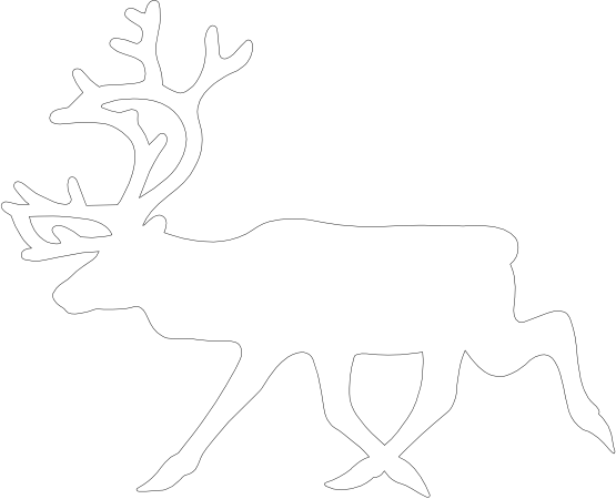 clipartist.net » Reindeer.