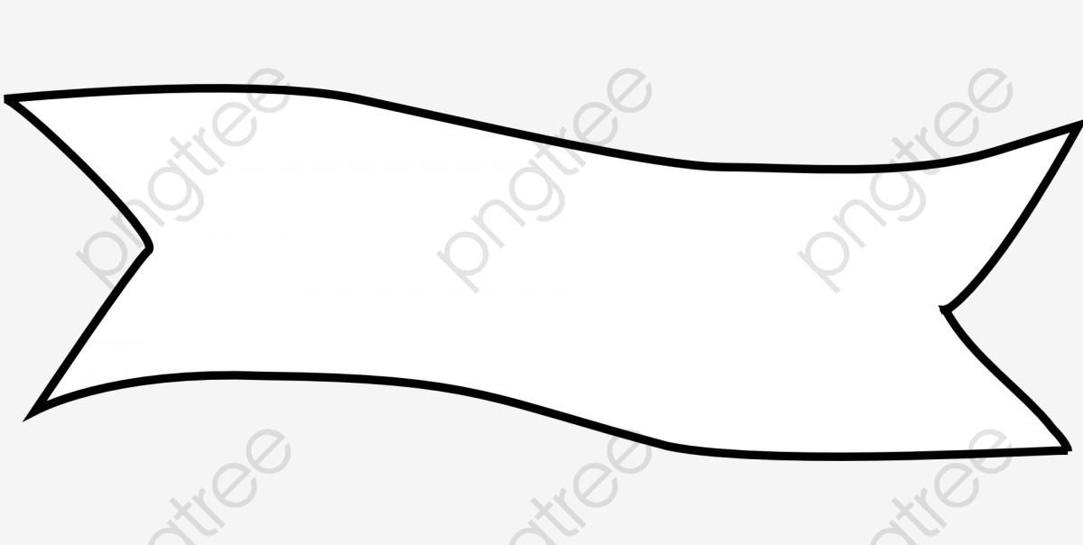 White Ribbon, Ribbon Clipart, Ribbon, Banner PNG Transparent Image.
