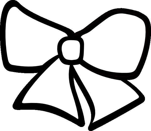 Black and white ribbon clipart kid 3.
