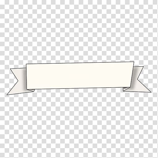 White ribbon signboard , Rectangle Ranged weapon Font, white.