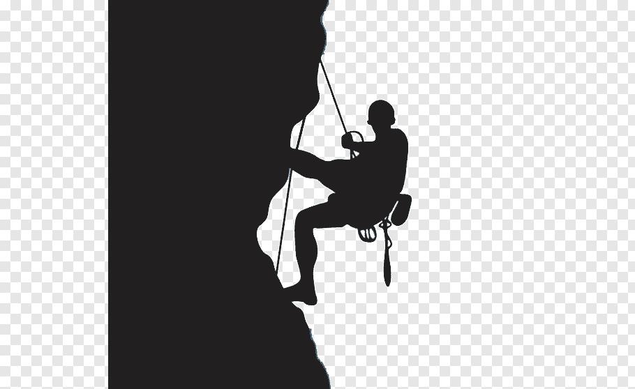 Man mountain climbing, Rock climbing Climbing wall, Simple.