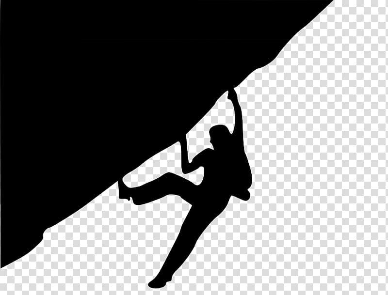 Rock climbing Sport climbing Climbing wall , Silhouette.