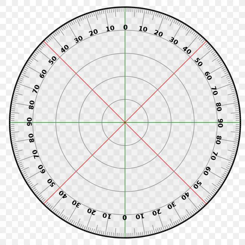 Chart Degree Right Angle Protractor, PNG, 1000x1000px, Chart.