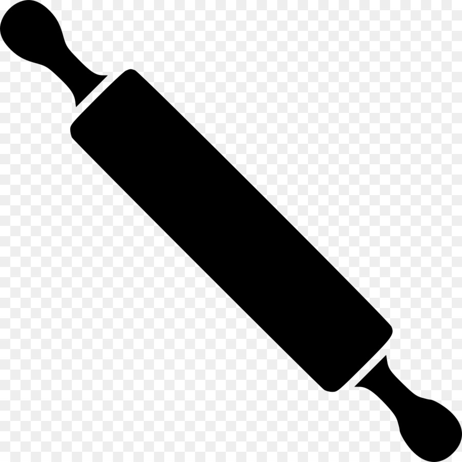 Rolling pin clipart black and white » Clipart Station.
