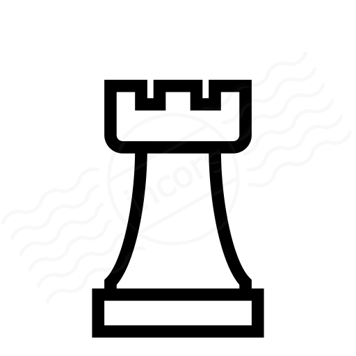 Rook Chess Piece Clipart.