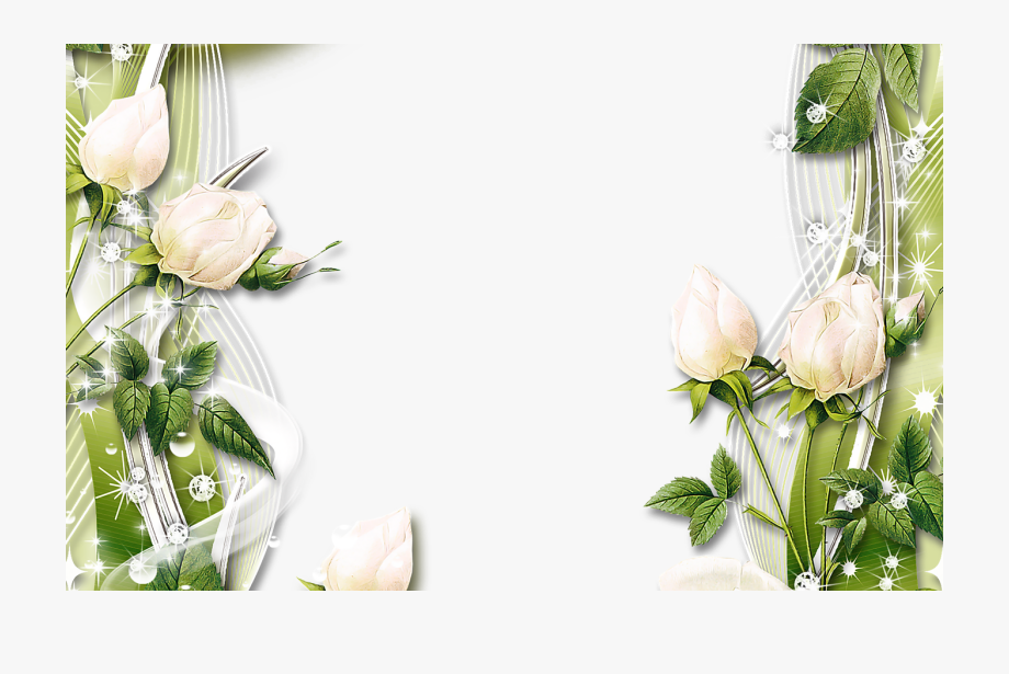 Flower Border Design Clipart Gardening.