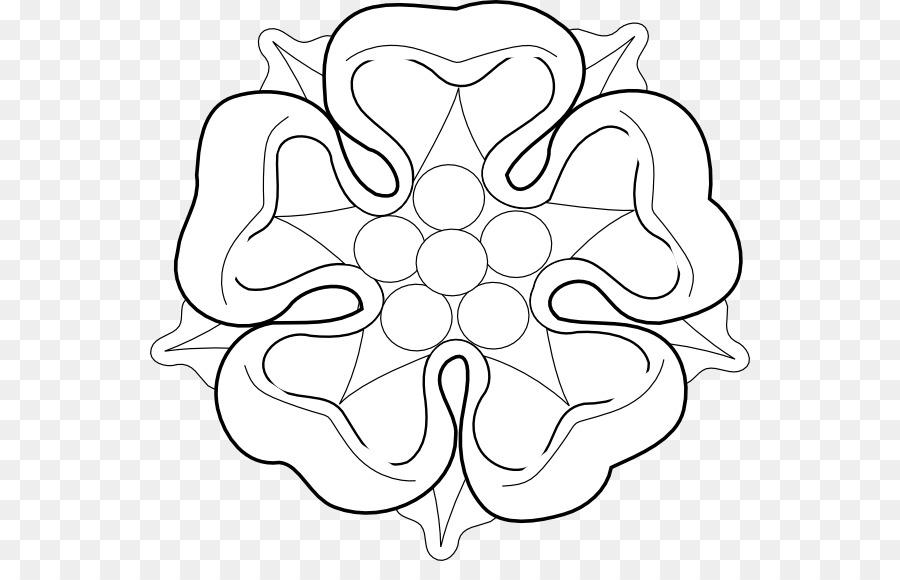 Tudor rose White Rose of York House of Tudor Clip art.