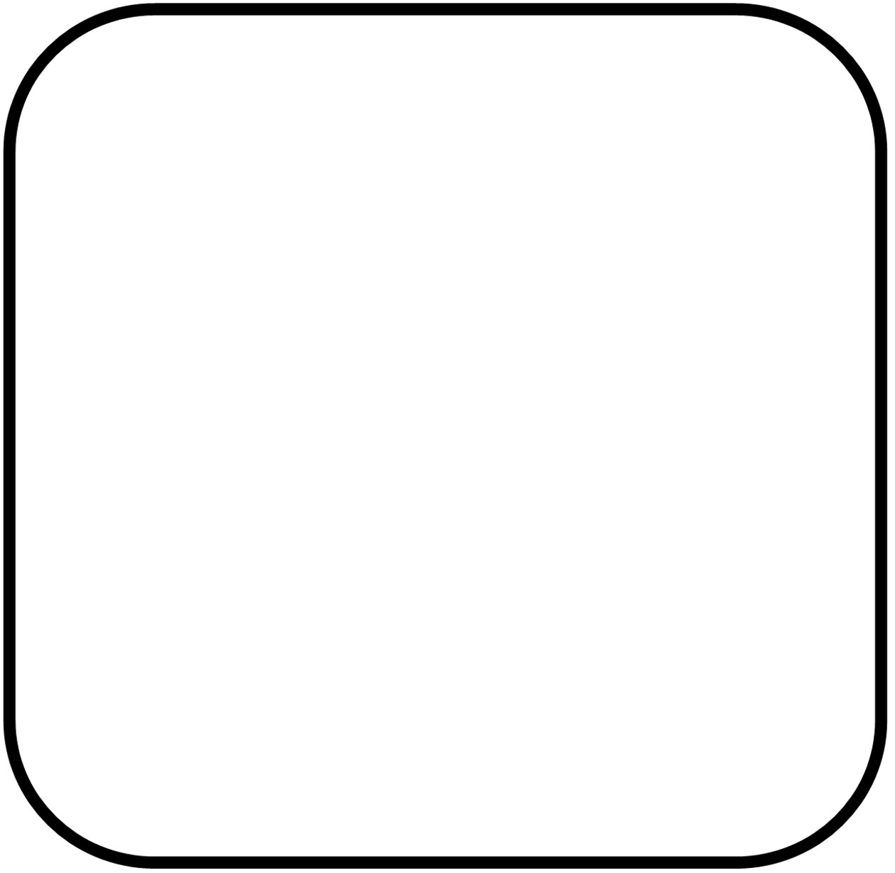 Rounded square png ::: Add printable clipart to your file.