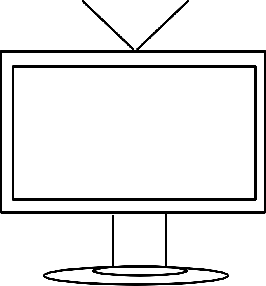White Round Square Png.