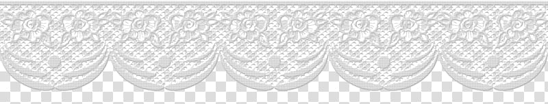 Paper Borders , white lace trim transparent background PNG.