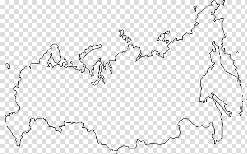 Blank map Russia Europe World map, Russia transparent.