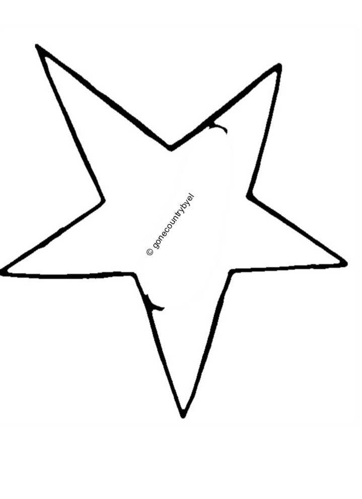 free primitive star pattern.