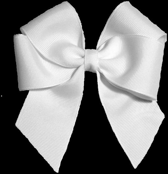 Ribbon White Satin Clip art.