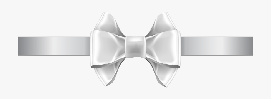 Bow Clipart White.