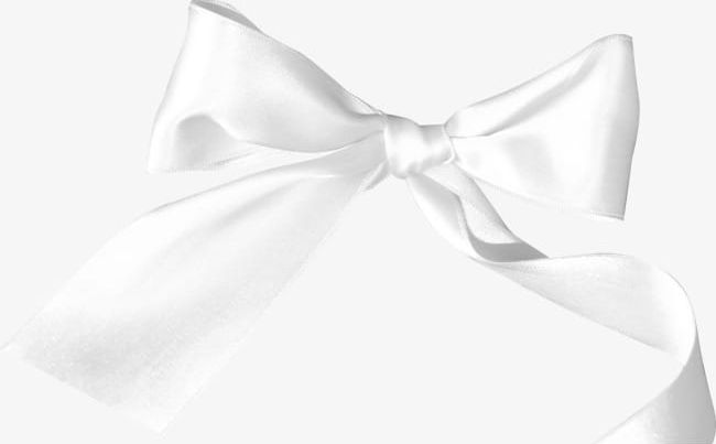 White Ribbon Bow PNG, Clipart, Bow, Bow Clipart, Bow Ribbon.