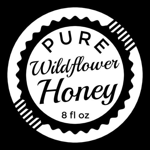 Vintage Stamp Honey Bottle Label Templates.