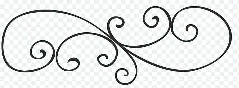 black scroll border.