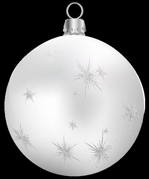 silver white ornament.