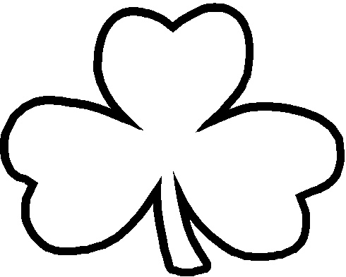 Download High Quality shamrock clipart white Transparent PNG.