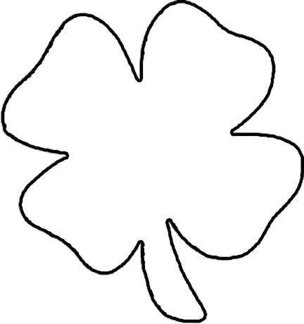 Free Shamrock Clipart Black And White, Download Free Clip.