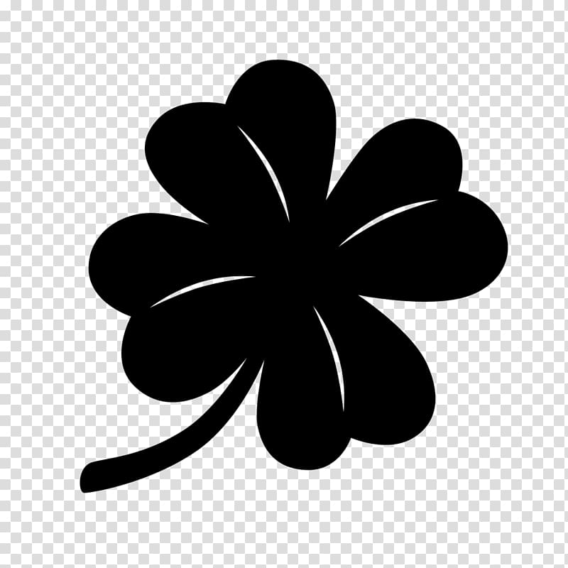 Saint Patrick\\\'s Day Shamrock , ink bamboo transparent.