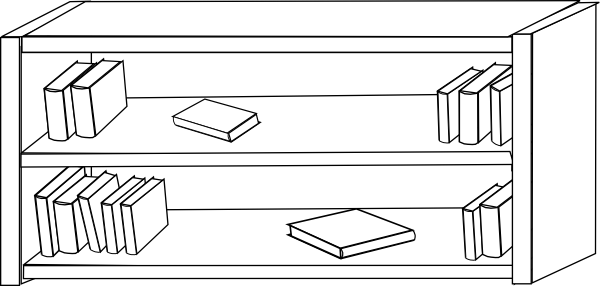 Shelf Png Black And White & Free Shelf Black And White.png.