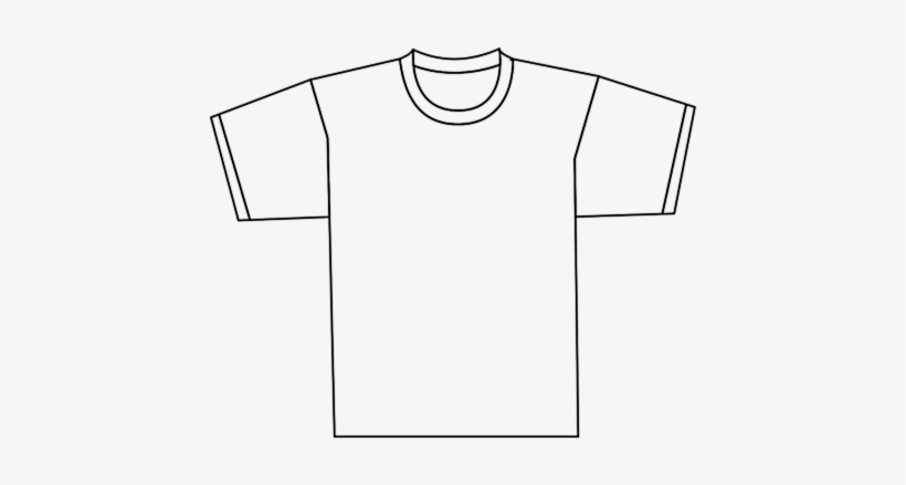 Png Transparent Stock Shirt Clipart Black And White.